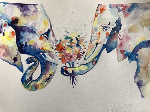 Elephants That Love