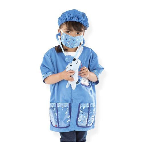 Disfraz veterinario