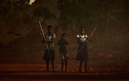 DIE KINDER IN SAMBIA
