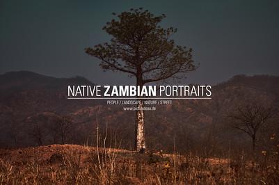 NATIVE ZAMBIAN PORTRAITS