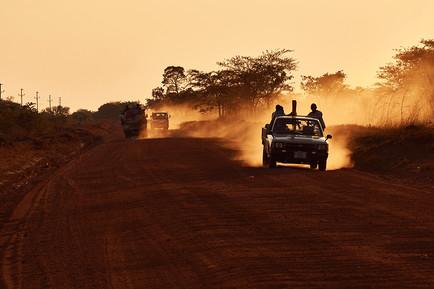 DIE STRASSEN VON SAMBIA