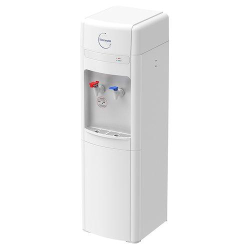 D5CH Freestanding Water Cooler Hot & Cold (Waterworks)