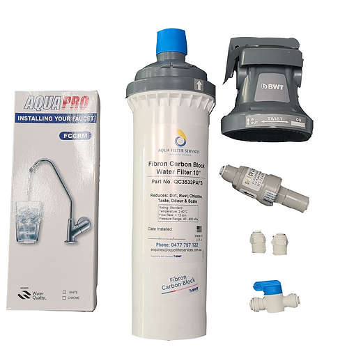 AFS Maxiflow Under sink Water Filter System Complete