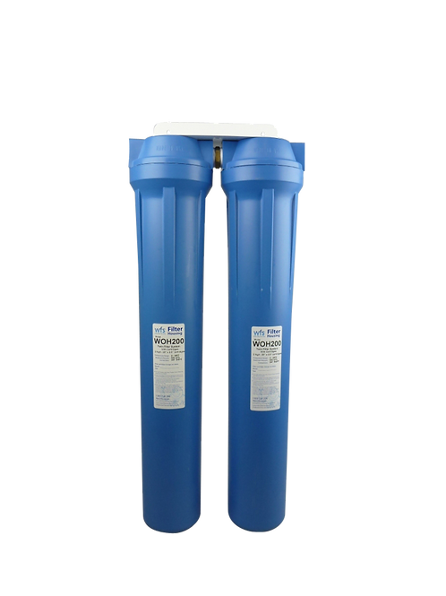 Complete Home Filtration 20x10 inch Twin