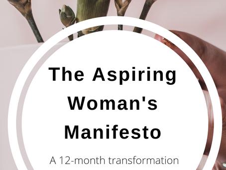Aspiring Woman's Manifesto 2019 Transformation Study
