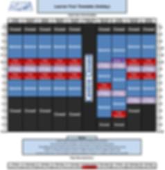 Christmas 2019 learner pool timetable.pn