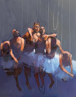 Corps de ballet - 92 x 73 - Oct 2021