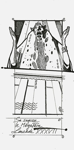 Illustration for Graal magazine