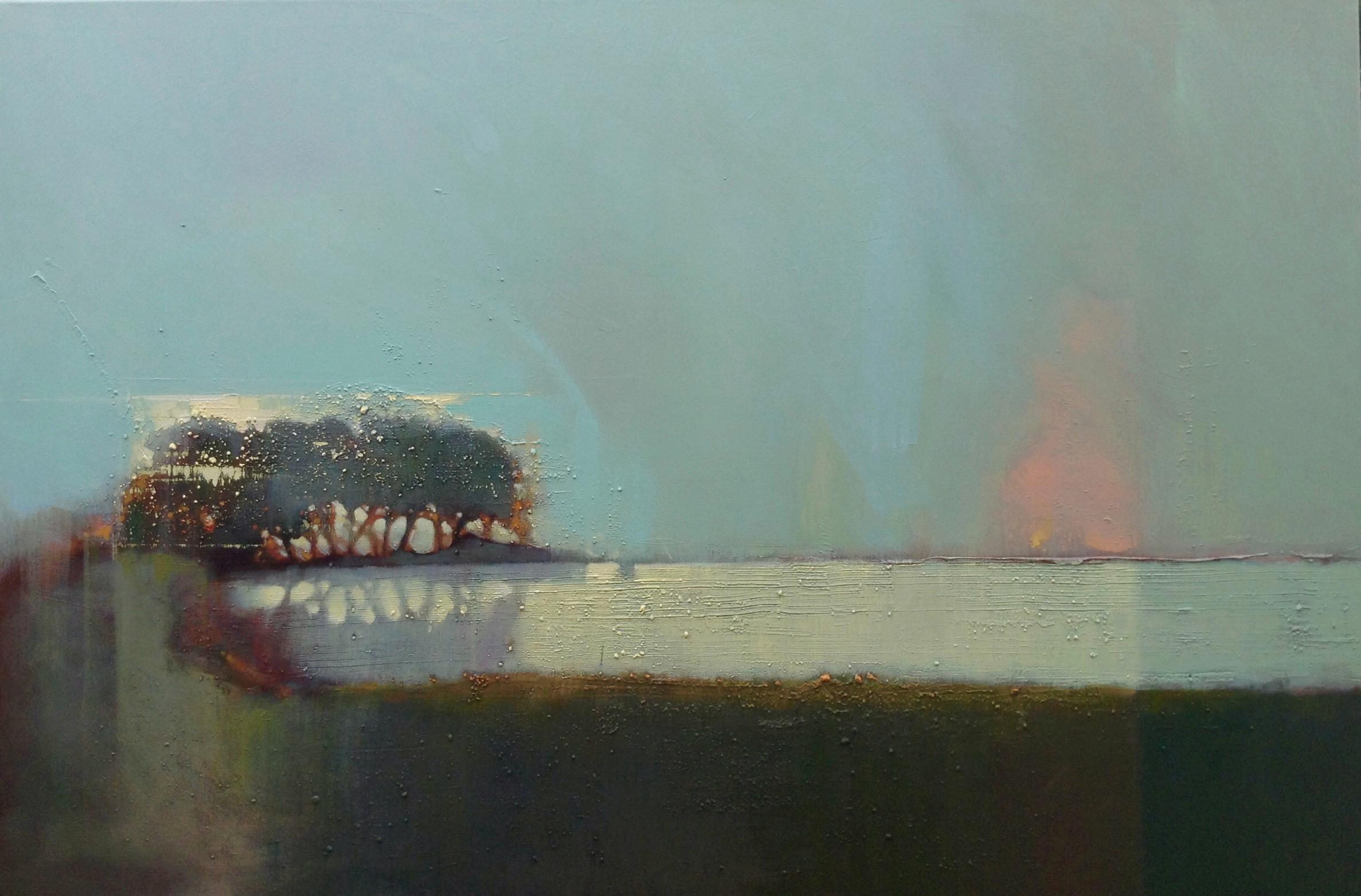 Engulfed Prometheus - Acrylic 120 x 80 -