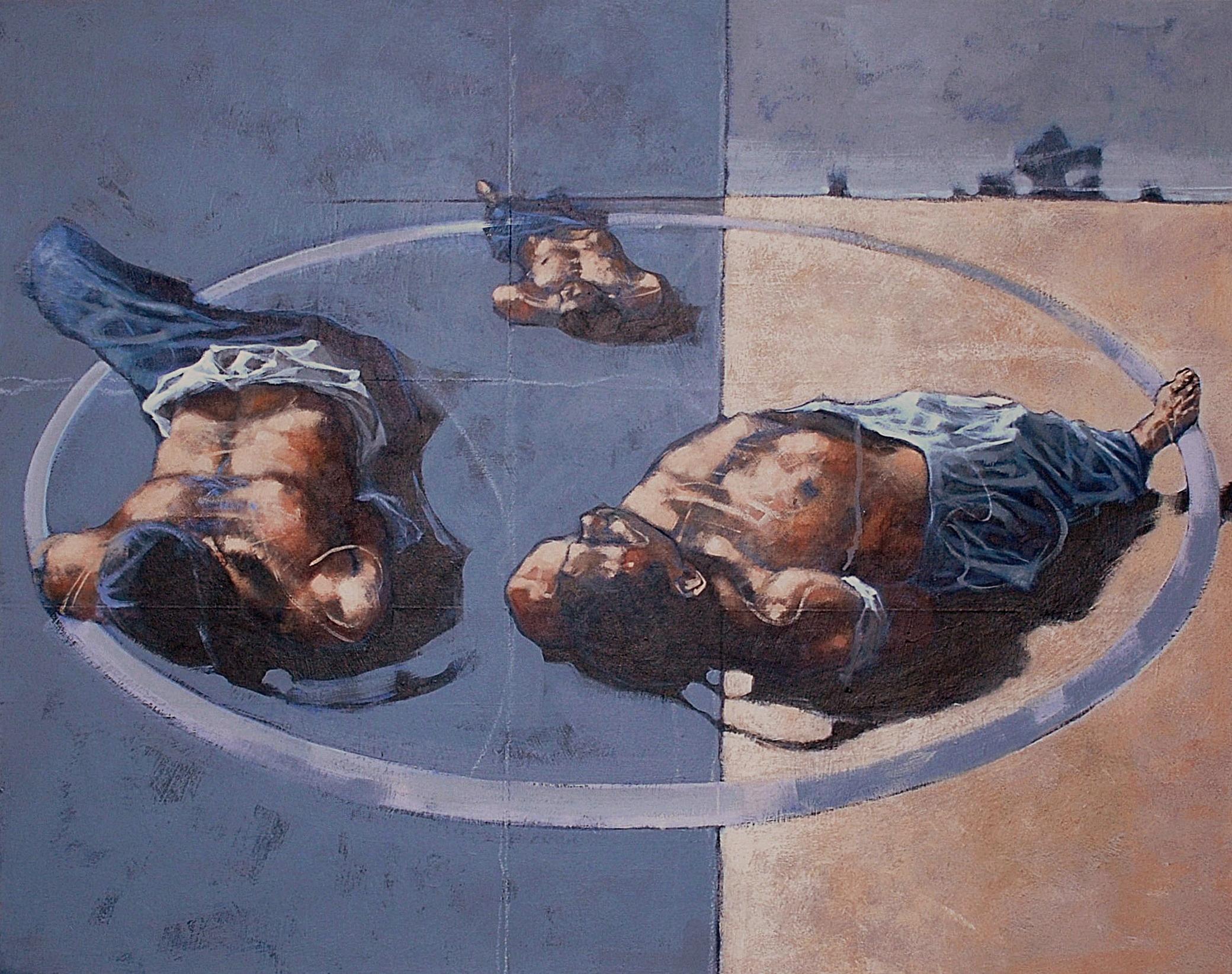Fallujah - acrylic - 92 x 73 - 2005
