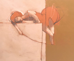Hanging by a thread - 73 x 60 - Sept 202