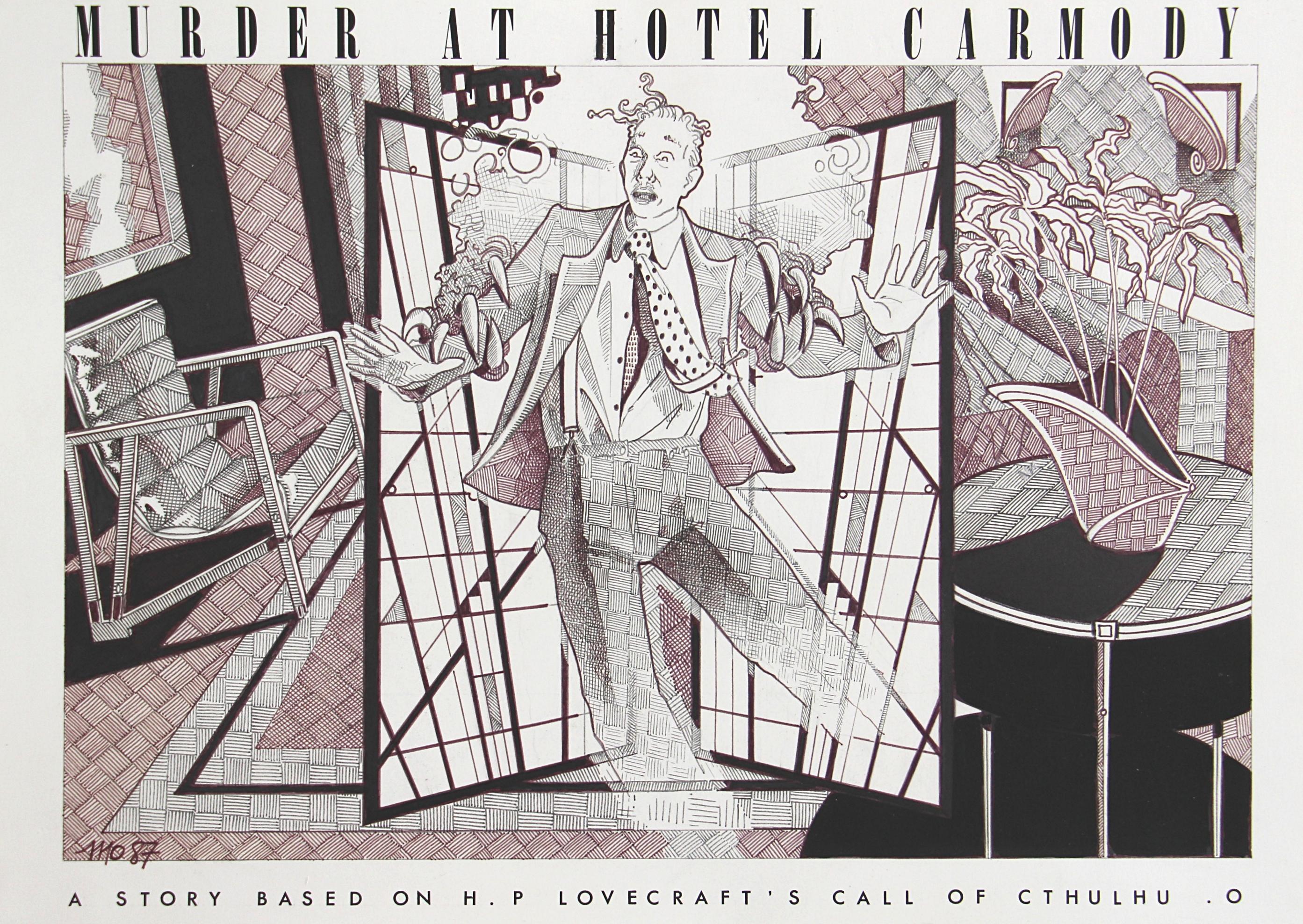 Murder at hotel Carmody