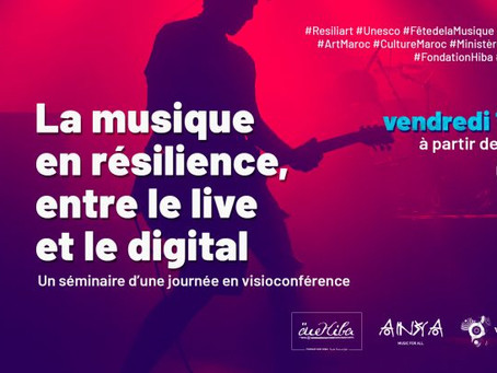 UNESCO: Webinaire autour de la résilience de la musique entre le live et le digital