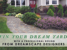 Win Your Dream Yard Sweepstakes from Dreamscape Designers