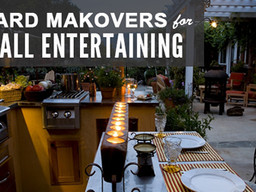 Yard Makeovers for Fall Entertaining