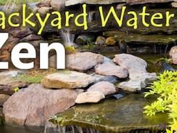 Backyard Water Zen: Waterfalls