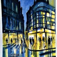 43 - Shops at Night