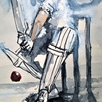 14 - The Cricketer