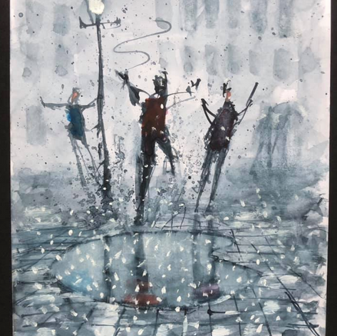 90 - Dancing in the Rain