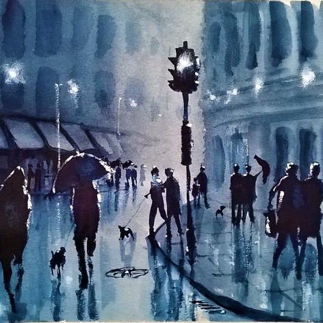 79  Rain in the City