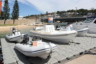 Ballistic 6.5m on Sydney Harbour