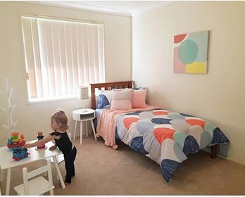 Children's rooms are just as important in a slower market as you need the whole family to fall in love with the house.