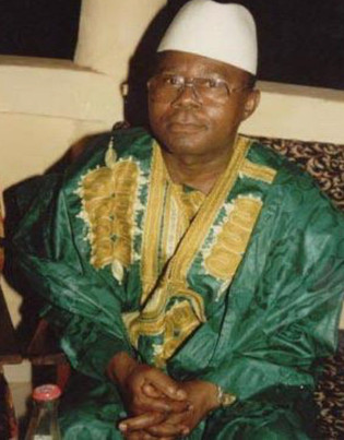 Our founder, Mr. Abraham H. Nyei, sr., TH. M.