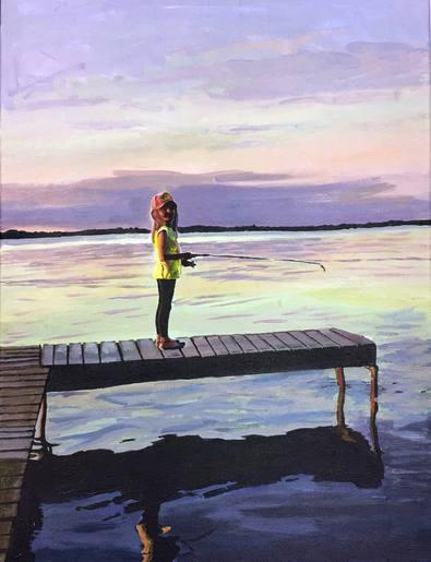 Gabby Fishing docks