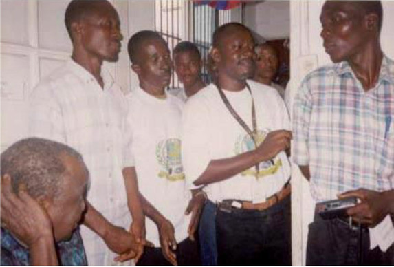 In The Phoths Sitting From Left, Is The Late Counselor E.S. Kromah, Who Whas The First Attorney To Legalized FHTH Branch In Liberia.