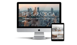 The Saratoga Building leasing and information website-Upper Eas...