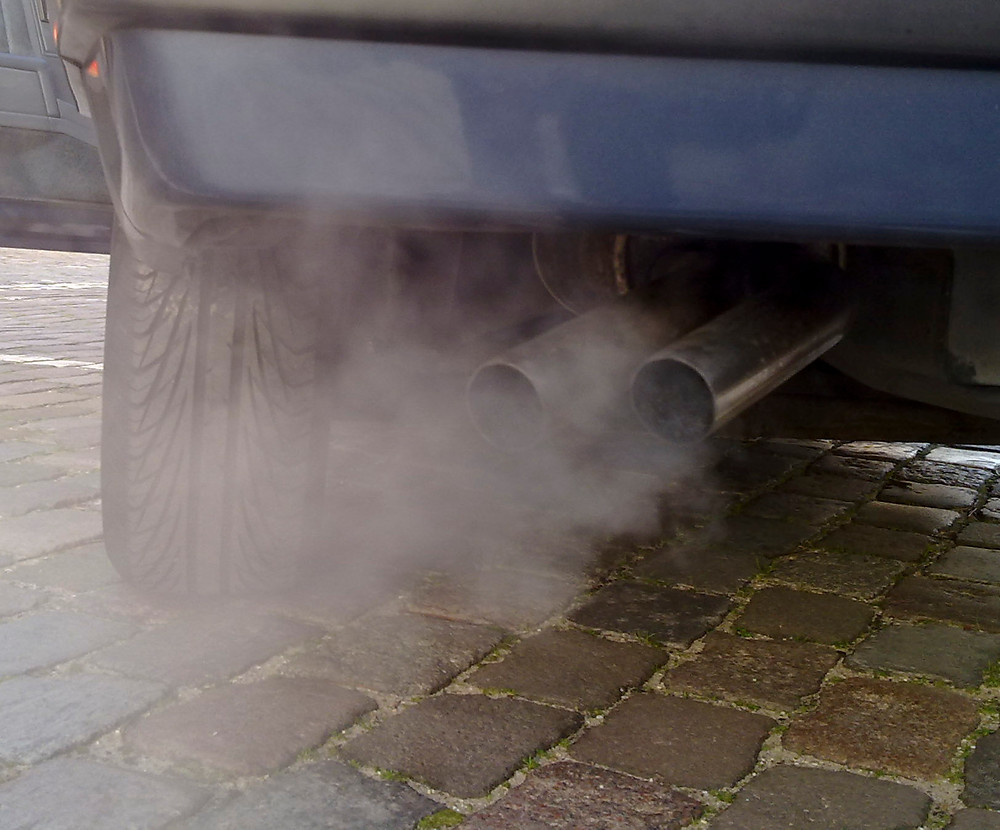 exhaust, emissions, pollution, Car