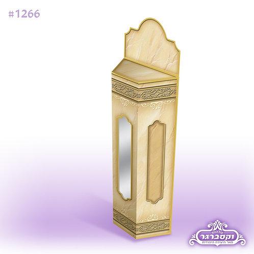 מארז עם מגילת אסתר -שערי ארמון - צבע חום