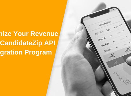 CandidateZip Launches its API Integration Program
