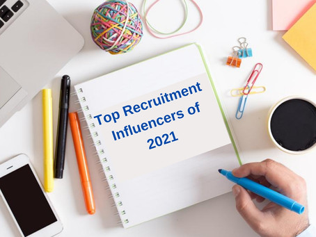 List of Recruitment Influencers to Follow in 2021