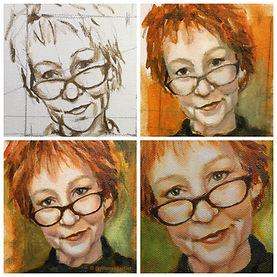 Jill Ansell autoportrait
