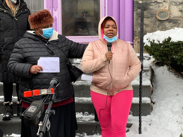 Evicted Mother Makes a Stand, and Rochester Community Stands With Her