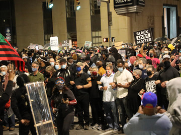 Gallery | Fifth Night of Protest for Daniel Prude Ends Peacefully After Police Hang Back