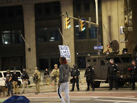 Gallery | Protesters Met With Militarized Police Force Saturday