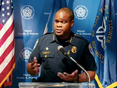 """RPD Chief Defends Officers' """"Restraint"""" During Recent Protests Sunday In Press Conference With Mayor"""