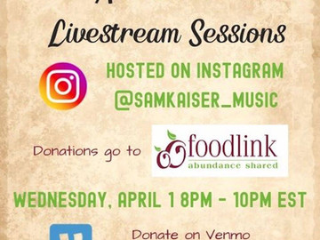 Rochester Musicians Host Online Benefit Show for Foodlink and COVID-19 Relief