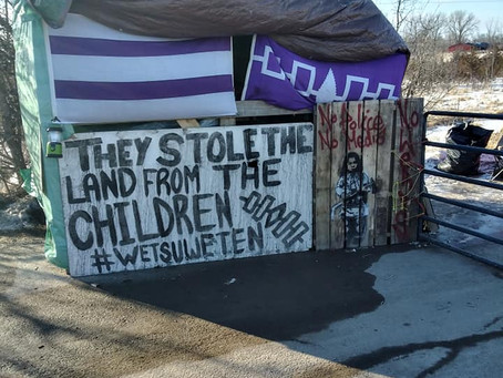 Mohawk Activist Detained, Searched at Border as Wet'suwet'en Solidarity Actions Continue