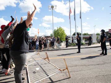 BLM Activists Rally in Solidarity With Kenosha, Vowing to Continue Summer of Protest into September
