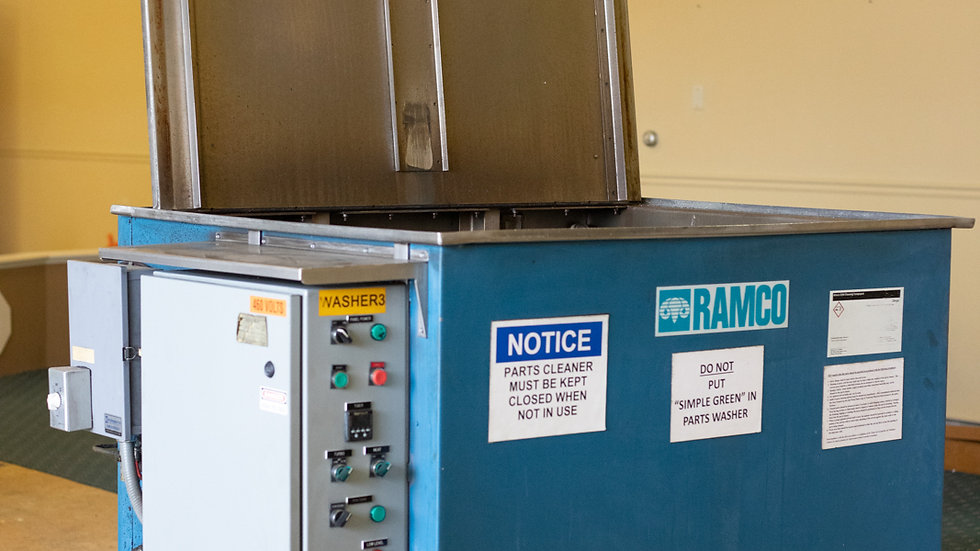 Ramco Parts Washer CM48ESS