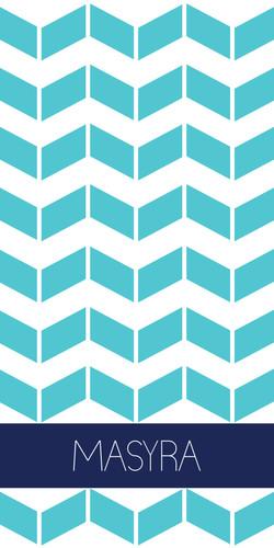 Herringbone Turquoise