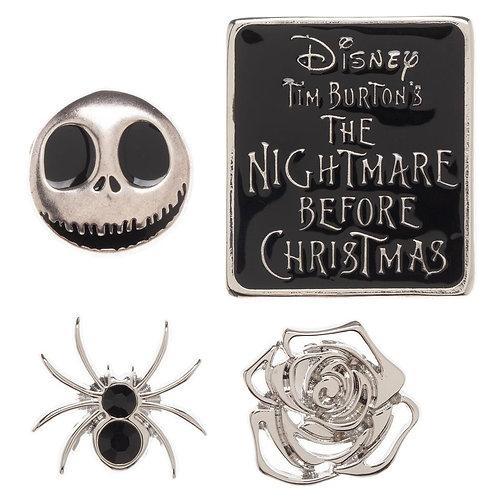 Nightmare Before Christmas Lapel Pin Set