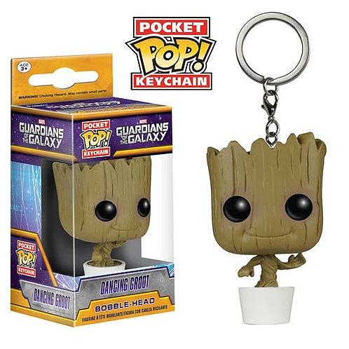 Guardians of the Galaxy Baby Groot Pocket Pop! Vinyl Figure Key Chain