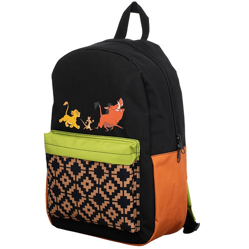 Lion King Sublimated Panel Print Backpack