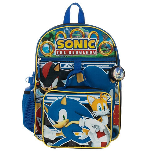 Sonic 5 PC Backpack Set