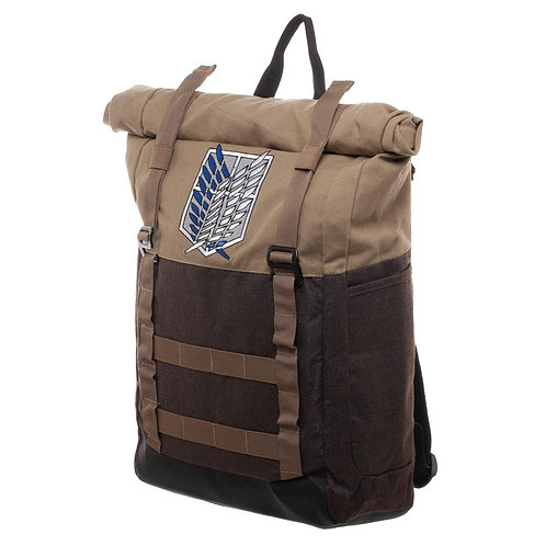 Attack on Titan Roll Top Backpack