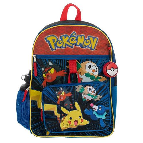Pokemon 5 PC Backpack Set
